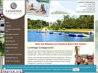 landingscampground.ca