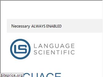 languagescientific.com