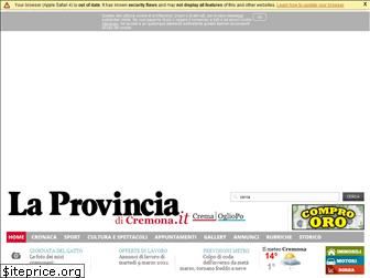 www.laprovinciacr.it website price