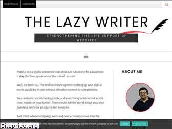lazywriter.in