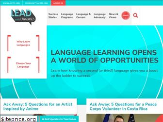 www.leadwithlanguages.org website price
