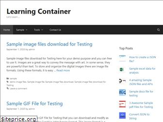 learningcontainer.com