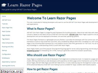 learnrazorpages.com