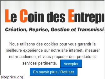 www.lecoindesentrepreneurs.fr website price