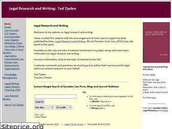 legalresearchandwriting.ca