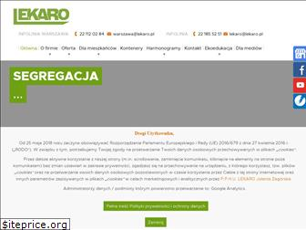 www.lekaro.pl website price
