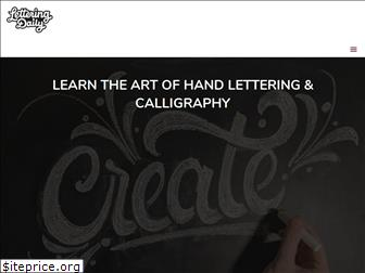 lettering-daily.com