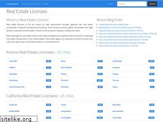 www.licensee.io website price