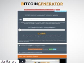 www.limited-bitcoin-generator.org website price