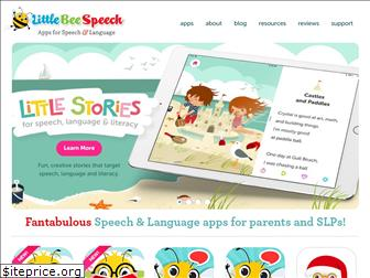 littlebeespeech.com