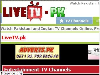www.livetv.pk website price