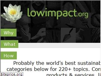 lowimpact.org