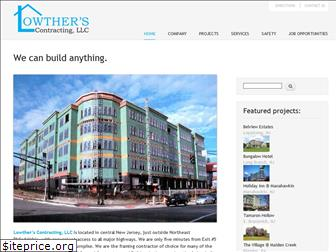 lowtherscontracting.com