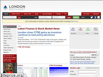 www.lse.co.uk website price