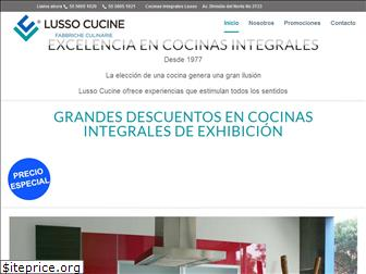 www.lussocucine.com.mx website price