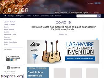 lutherie-didier.fr