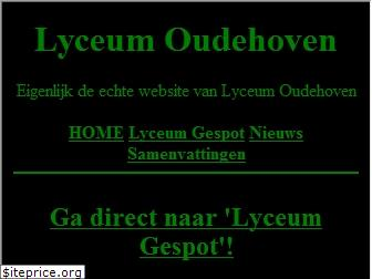 www.lyceumoudehoven.nl website price