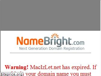 www.macizlet.net website price