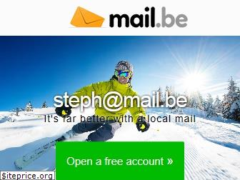 www.mail.be website price