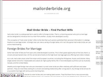 mailorderbride.org