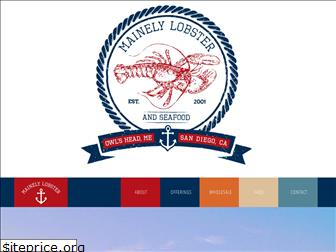mainelylobsters.com