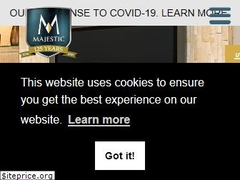 majesticproducts.com