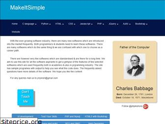 makeitsimple.co.in