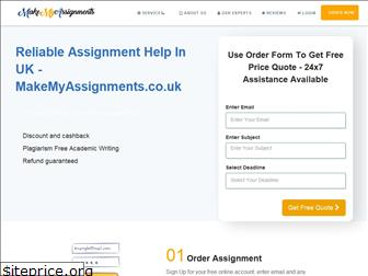 makemyassignments.co.uk