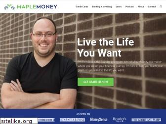 maplemoney.com