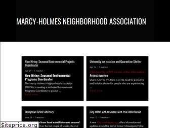 marcy-holmes.org