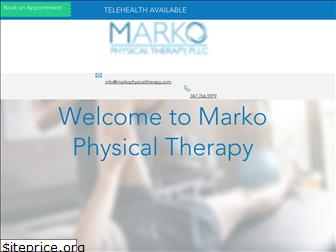 markophysicaltherapy.com