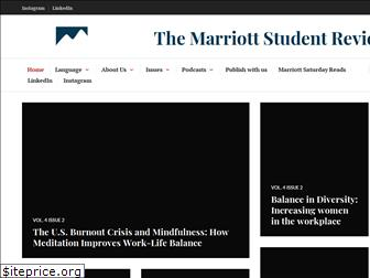 marriottstudentreview.org