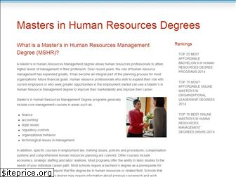 masters-in-human-resources.org
