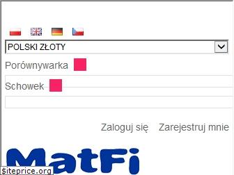 www.matfi.pl website price