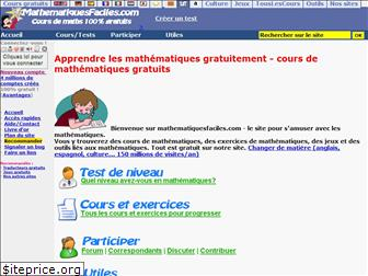 mathematiquesfaciles.com