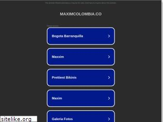 www.maximcolombia.co website price