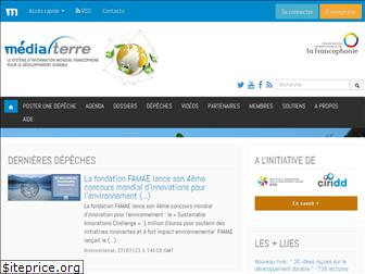 www.mediaterre.org website price