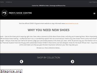 mensshoecentre.co.za