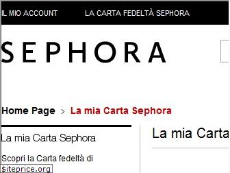www.miacarta.sephora.it website price
