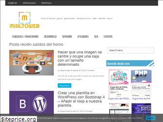 www.mialtoweb.es website price