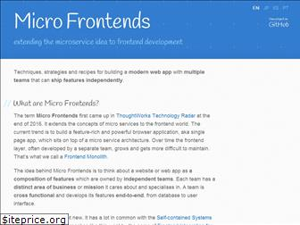 micro-frontends.org