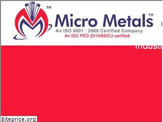 micrometals.co.in