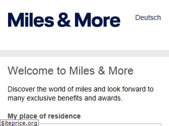 miles-and-more.com