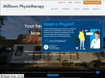 milltownphysiotherapy.com