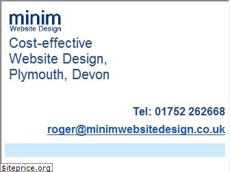 minimwebsitedesign.co.uk