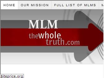 mlm-thewholetruth.com
