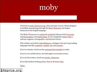 moby-thesaurus.org