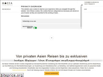 www.moccatravels.de website price