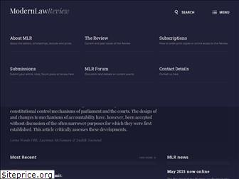 modernlawreview.co.uk