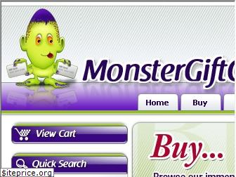 monstergiftcard.com